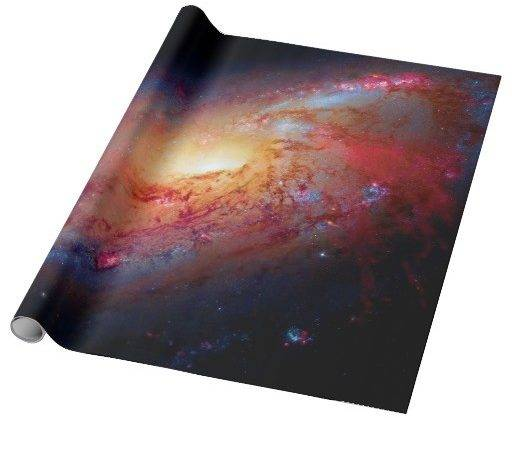 Messier Spiral Galaxy Wrapping Paper Zazzle