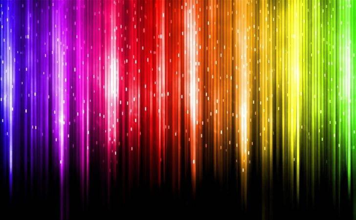 Met Gekleurd Sprankelend Licht Super Moderne