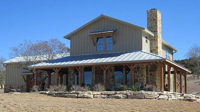Metal Building Homes Wrap Around Porch Lovely Ranch Home