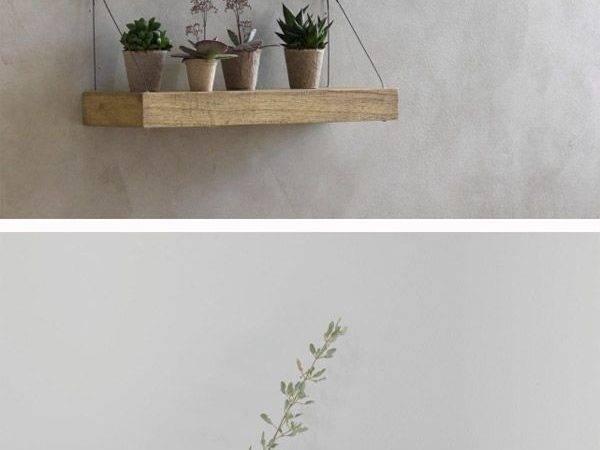 Metal Glass Hanging Shelves Diy Ceiling
