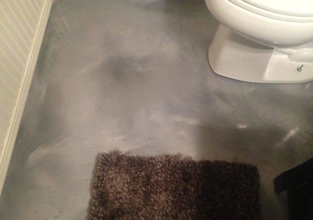 Metallic Epoxy Floor Bathroom Mvl Concretes Blog