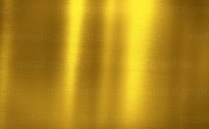 Metallic Gold Metal Graphics