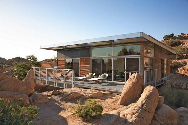 Metallic Structure Homes Stunning Design Function