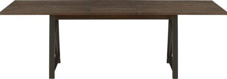 Metra Extension Dining Table Crate Barrel