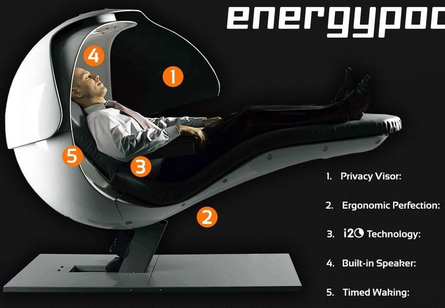 Metronaps Energy Pod