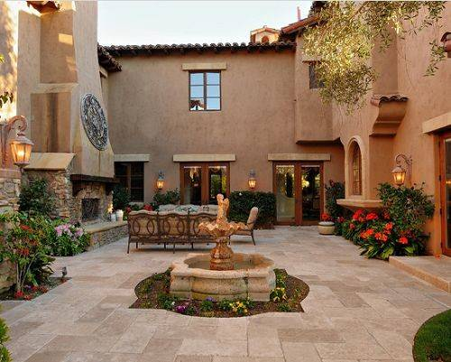 Mexican Courtyards Patios Estos Son Algunos Dise Casas