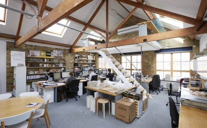Mezzanine Office Space Warehouse Conversion Southbank