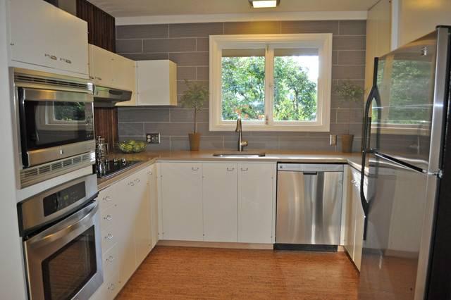 Mid Century Kitchen Remodel Modern Portland