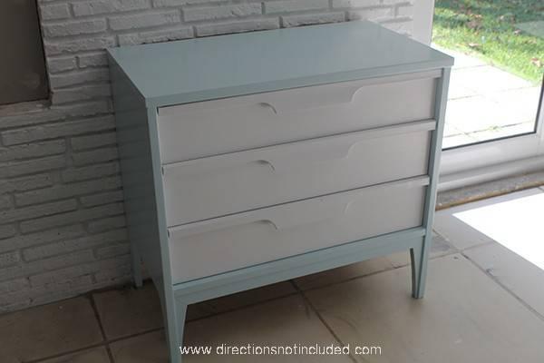 Mid Century Modern Dresser Painted Furniture