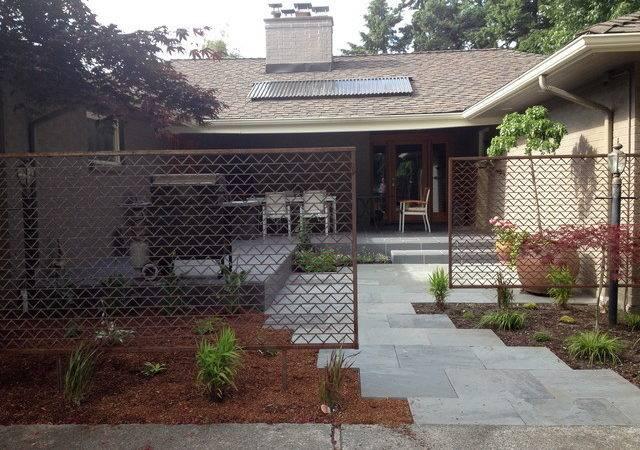 Mid Century Modern Edmonds Midcentury Landscape Seattle