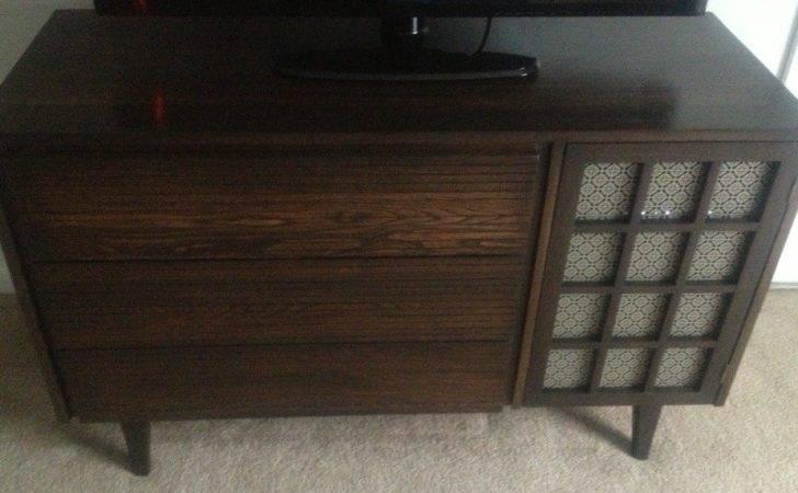 Mid Century Modern Furniture Painted Refurbished Midcentury