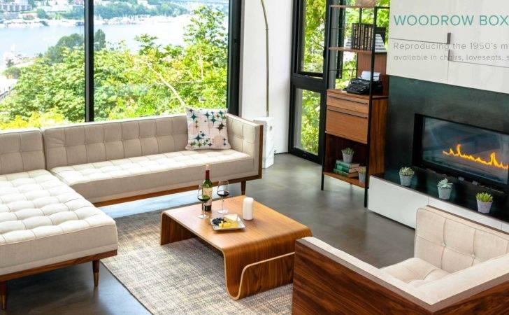 Mid Century Modern Furniture Seattle Lighting Living
