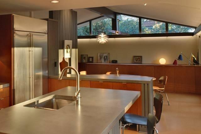 Mid Century Modern Home Renovation Kitchen