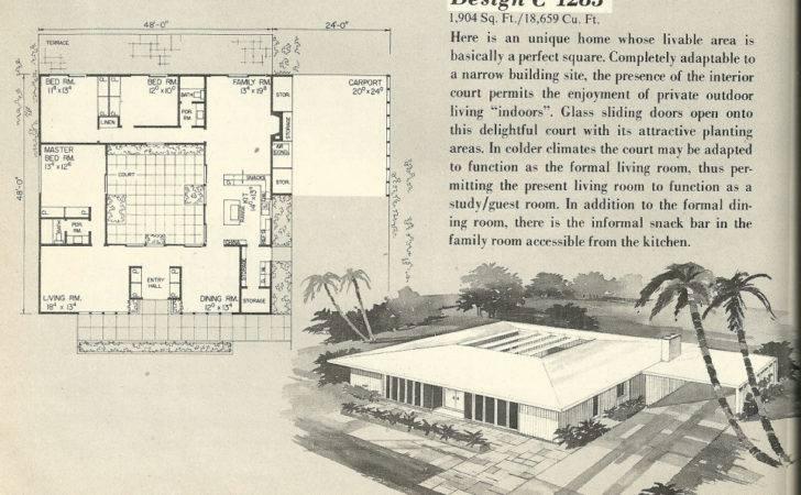 Mid Century Modern House Plans Bear