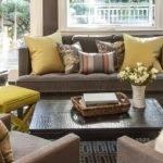 Mid Century Modern Living Room Blends Texture Blend Textures