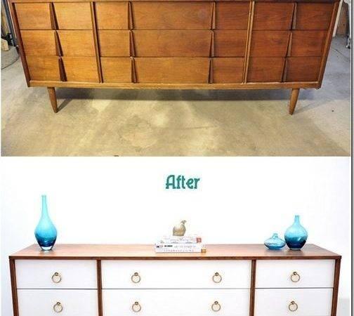 Mid Century Modern Painted Furniture Pinterest Desk
