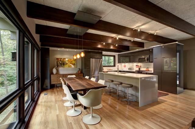Mid Century Modern Renovation Midcentury Kitchen Indianapolis