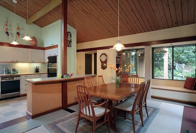 Mid Century Modern Renovation Remodel Seattle Dining Room