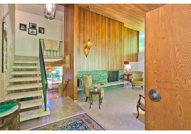 Mid Century Modern Seattle Home Pinterest