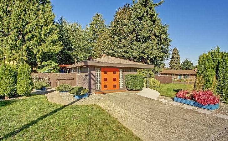 Mid Century Modern Style Home Sale Seattle Area Dream