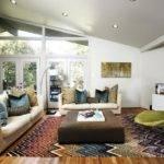 Midcentury Modern Living Room Vaulted Ceiling Hgtv