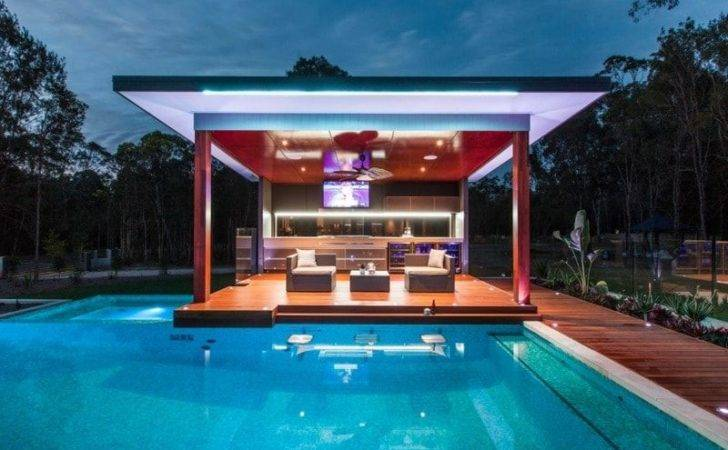 Midcentury Modern Pool Designs Ultimate Cabana