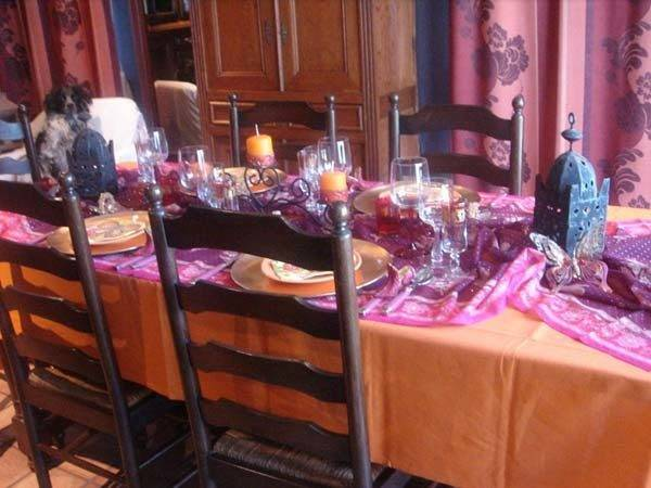 Middle Eastern Party Table Decoration Ideas Centerpieces