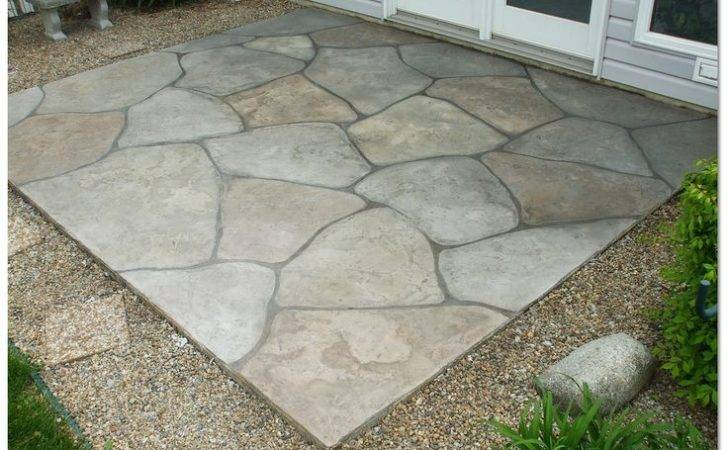 Might Looking Dress Concrete Patio Don