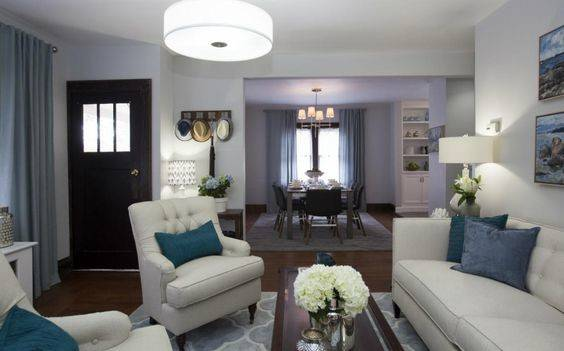 Mike More Home Antoni Budget Linens Spas Living Rooms Blue