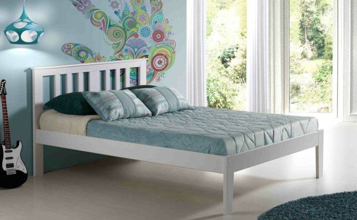 Milan Platform Bed White Innovations