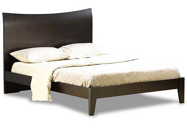 Milan Platform Espresso Bed Shipping Today
