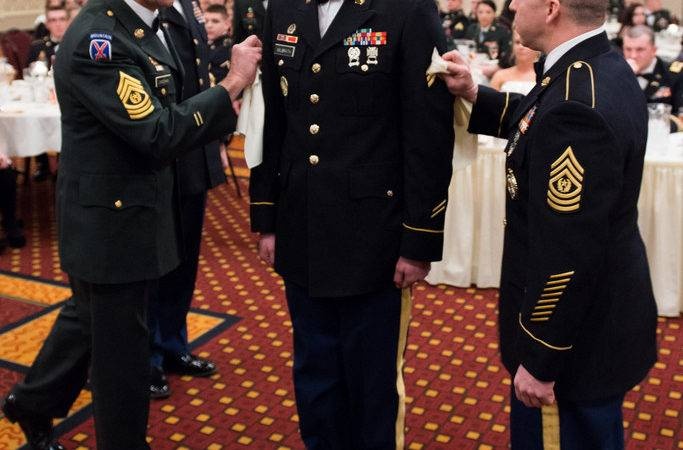 Military Police Dining Out Command Sgt Maj