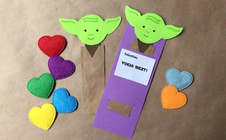 Mine Diy Yoda Bookmark Valentines Geek Sundry