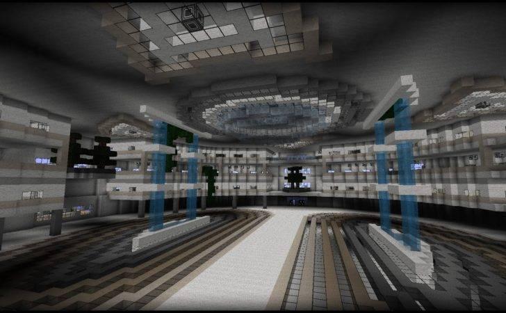Minecraft Modern Town Hall First