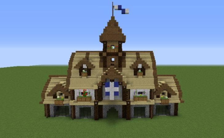 Minecraft Modern Town Hall Medieval Grabcraft Your