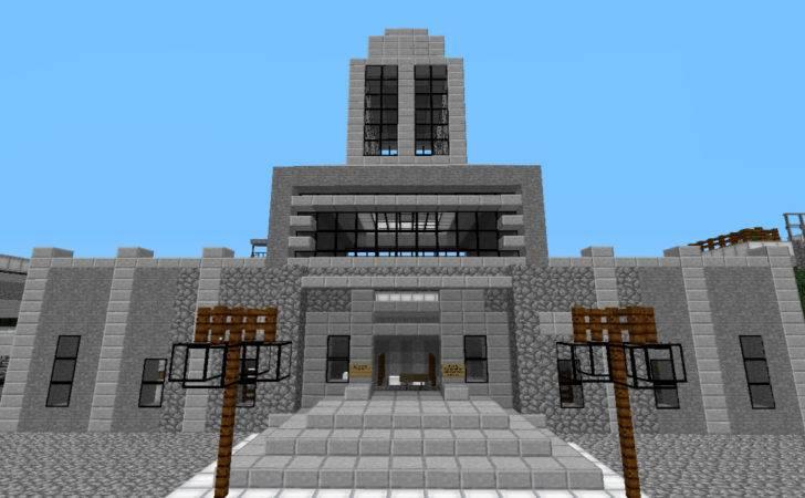 Minecraft Modern Town Hall Pin Ideas Artwood World