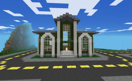 Minecraft Modern Town Hall Related Keywords