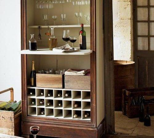 Mini Home Bar Portable Designs Offering Convenient Space