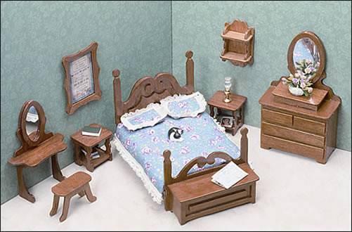 Miniature Furniture Kits Bedroom
