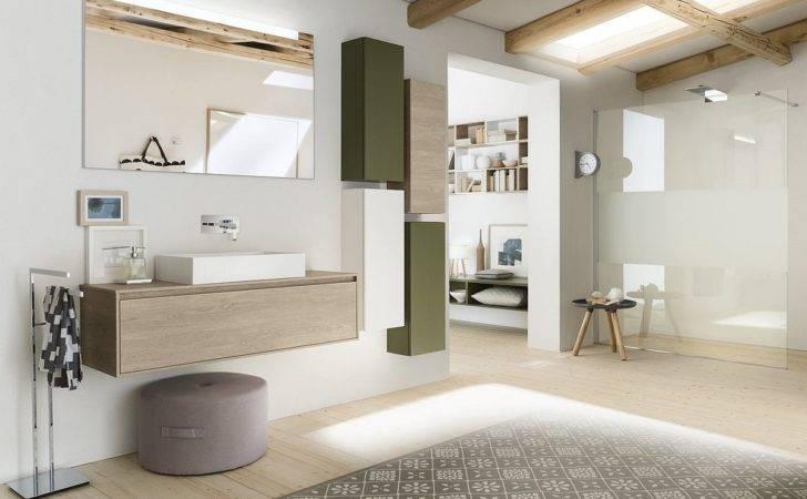 Minimal Modular Bathroom Composition Inda Decoist