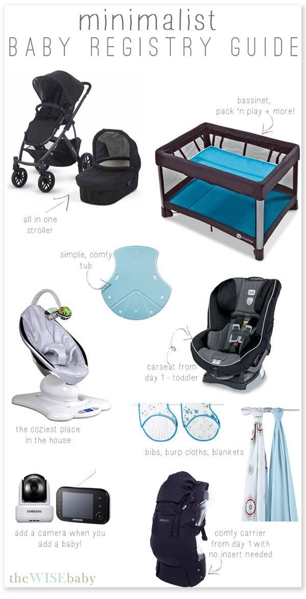 Minimalist Baby Registry Guide Wise