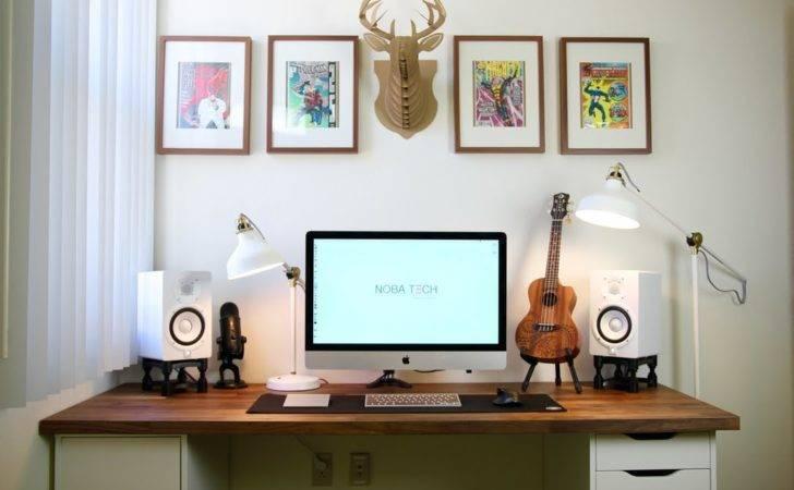 Minimalist Desk Setup Tour Youtube