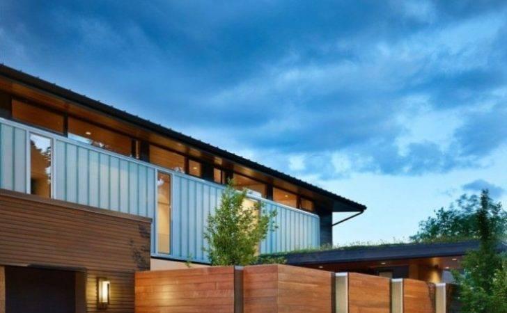 Minimalist Fence Design Simple Modern House Home Decor