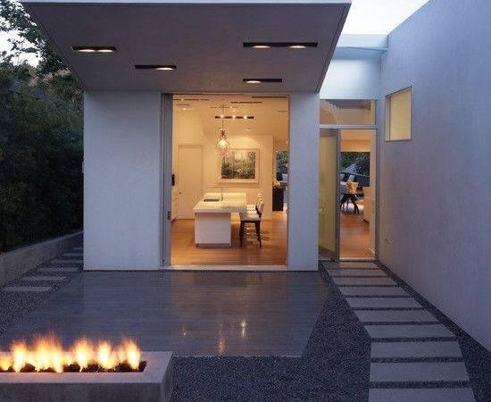 Minimalist Home Design Ideas White Color Small Summer House