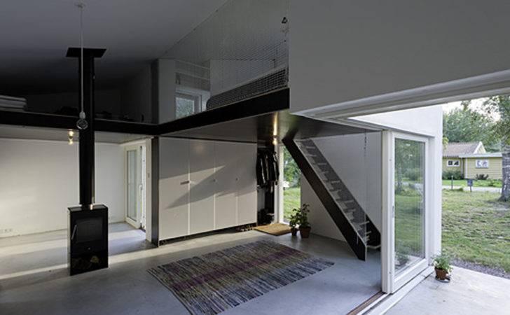 Minimalist Interior Small House Dinell Johansson Design
