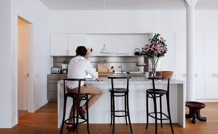 Minimalist Kitchen Design Hudson Loft Interior Architecture