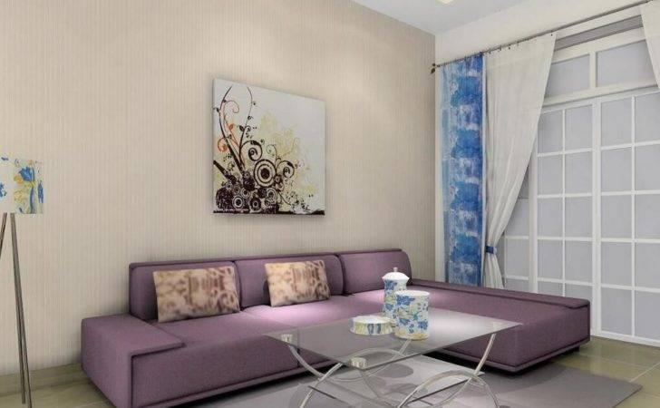 Minimalist Living Room Glass Coffee Table