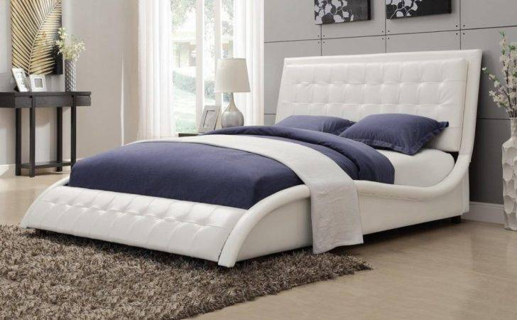 Minimalist White Floating Bed Furniture Design Ideas Small Bedroom