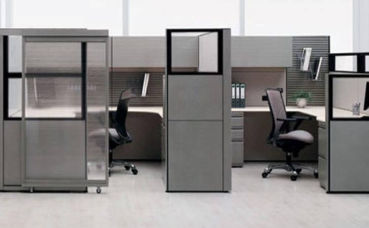 Minimalist Workstation Modern Office Cubicle Design