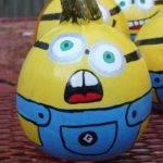 Minion Painted Pumpkins Pinterest